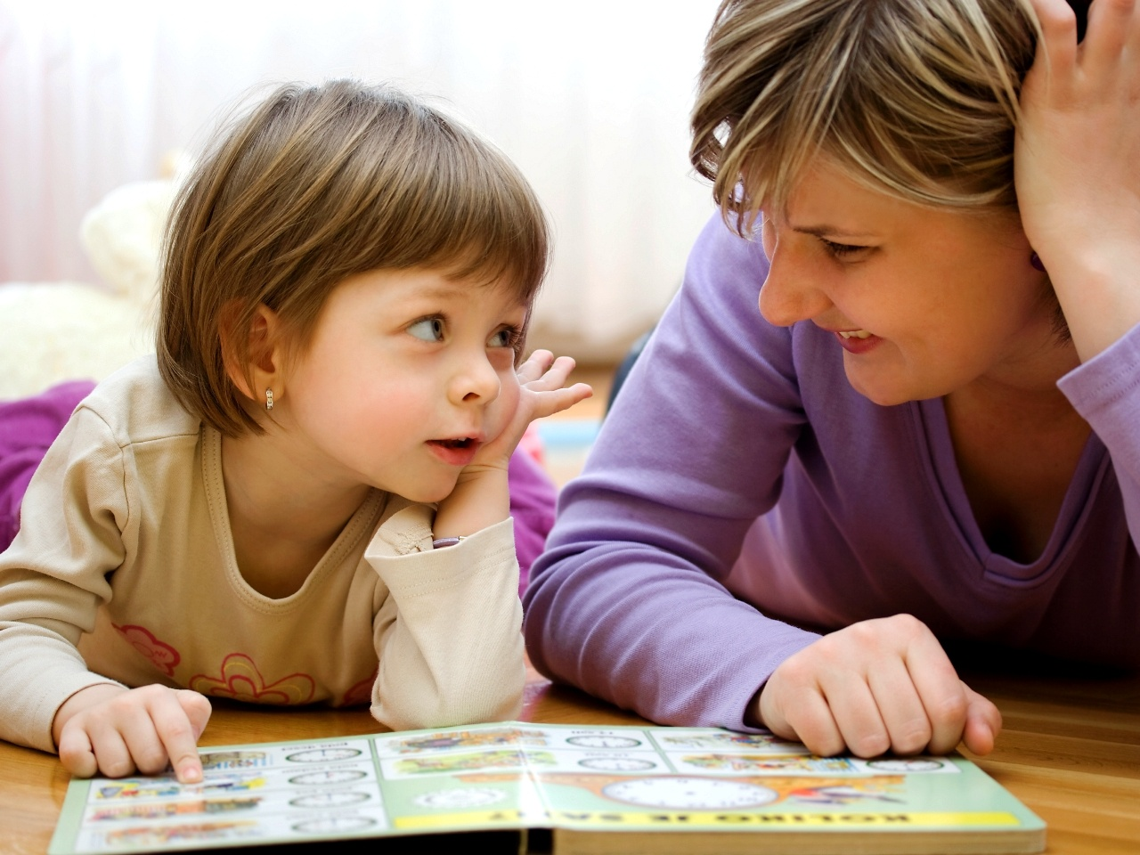 Совместное чтение сделает ребенка умнее