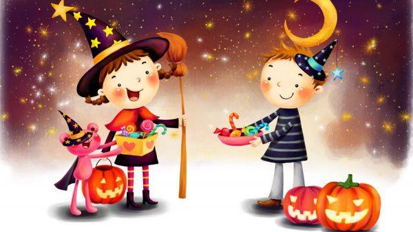 Как отпраздновать Хэллоуин с детьми?