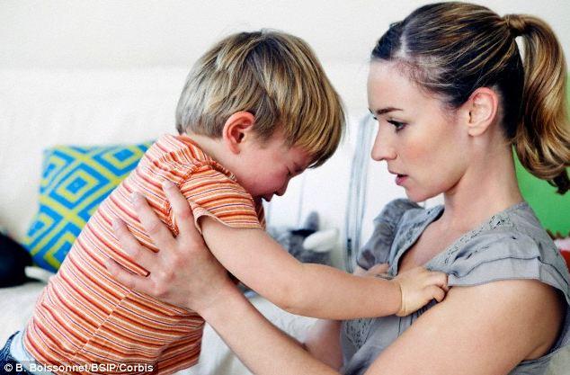 Когда ребенок бьет родителей, как себя вести?
