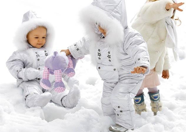 Детская верхняя одежда для зимы