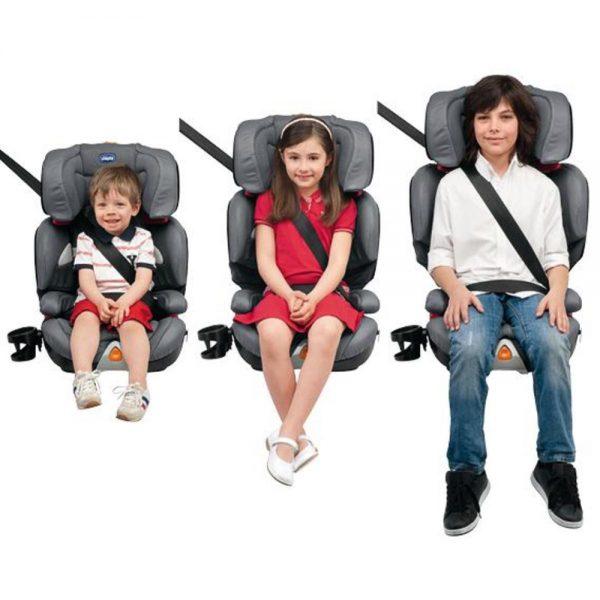 Универсальное детское автомобильное кресло от 0 до +12
