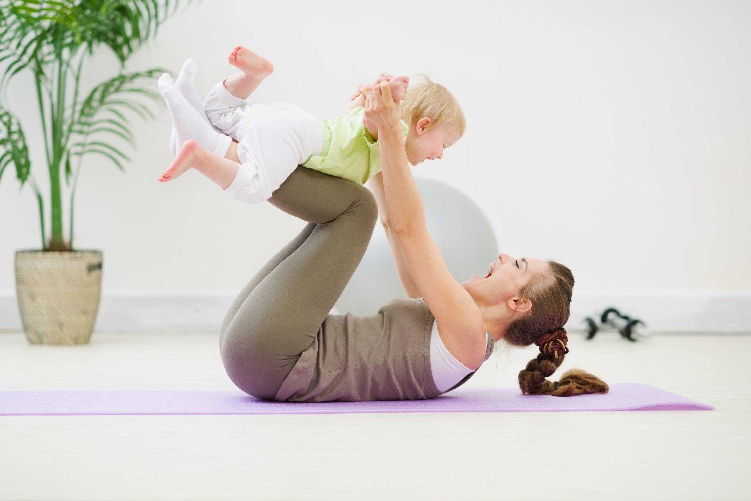 Тренировки с ребенком