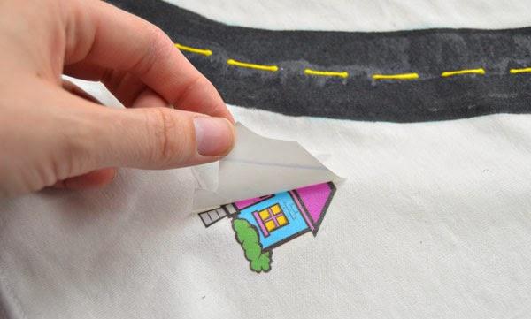 Как нарисовать рисунок на футболке