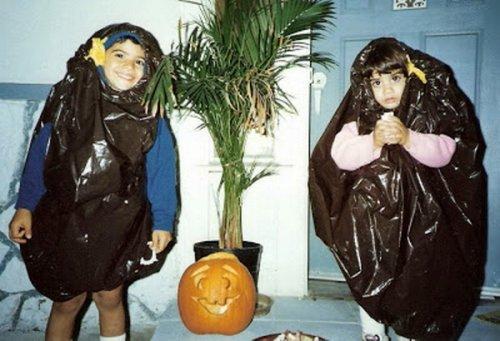 Неудачные костюмы детей на Хэллоуин