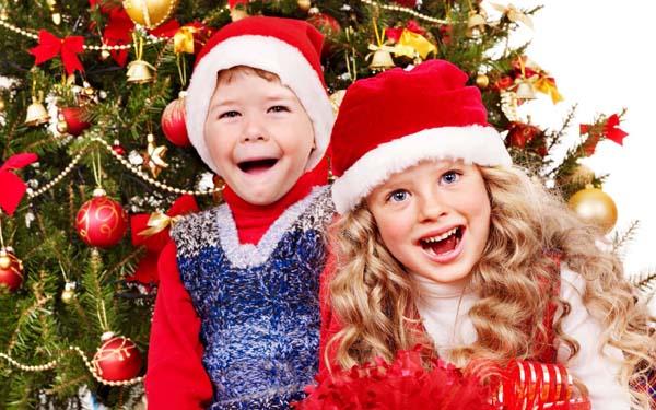 Детские конкурсы и игры на Новый год