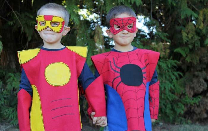Костюмы супергероев своими руками
