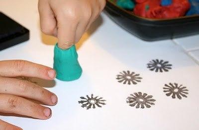 Штампы из пластилина: создаем необычные узоры