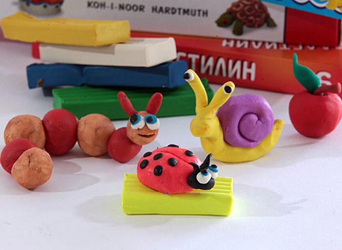 Поделки из пластилина для детей