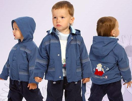 Детские куртки весна-осень