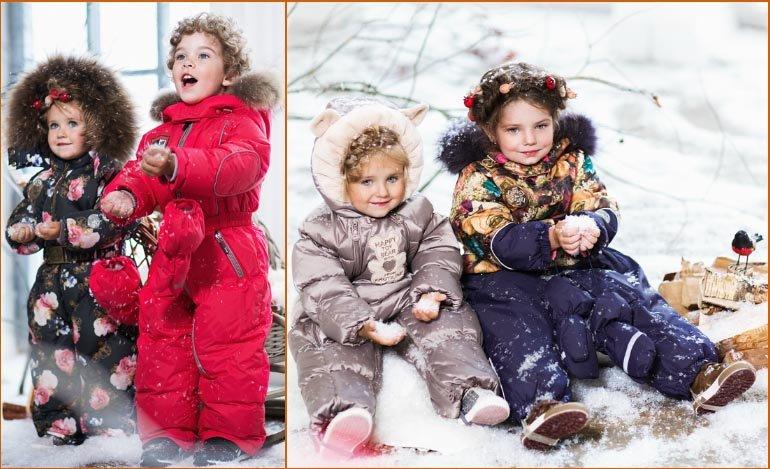 Зимний гардероб годовалого ребенка: что нужно брать?