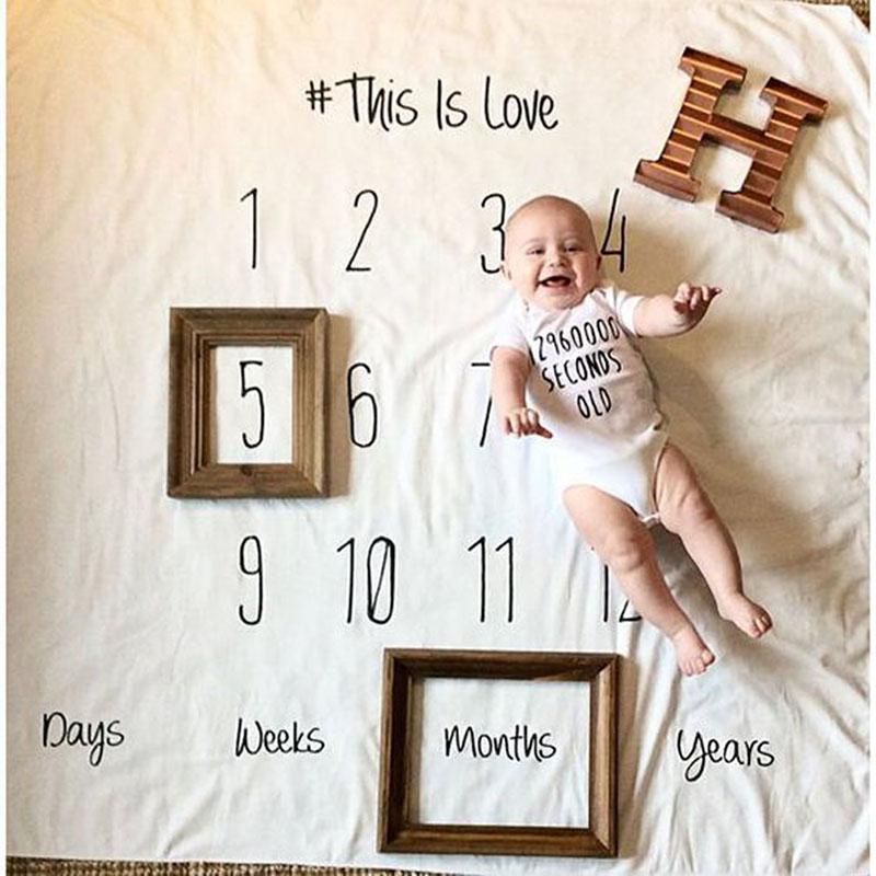 Фотофон для фотографирования малыша помесячно