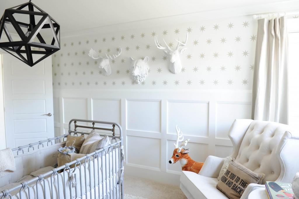 Модный настенный декор для детской комнаты