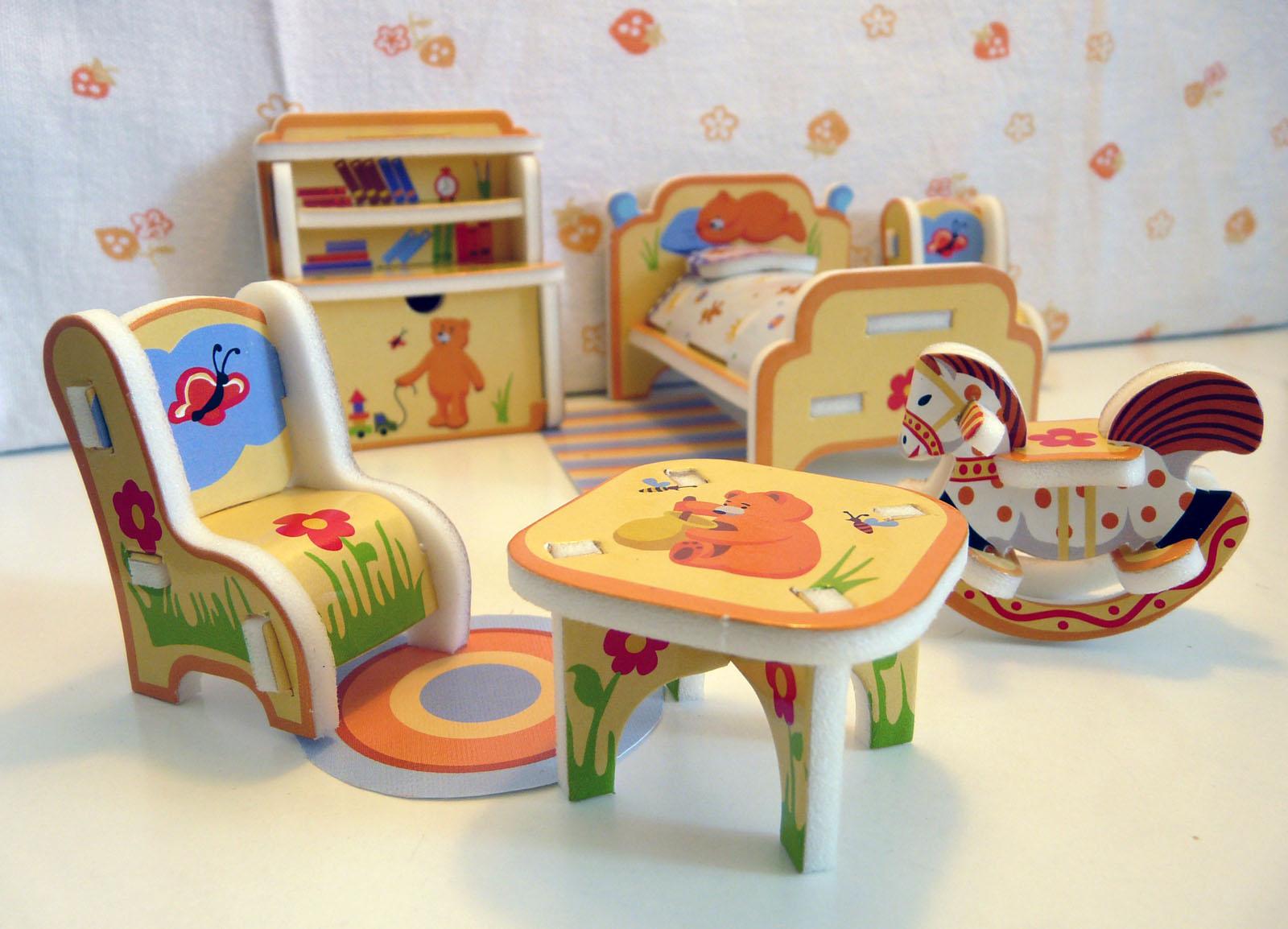 Детская мебель для игр