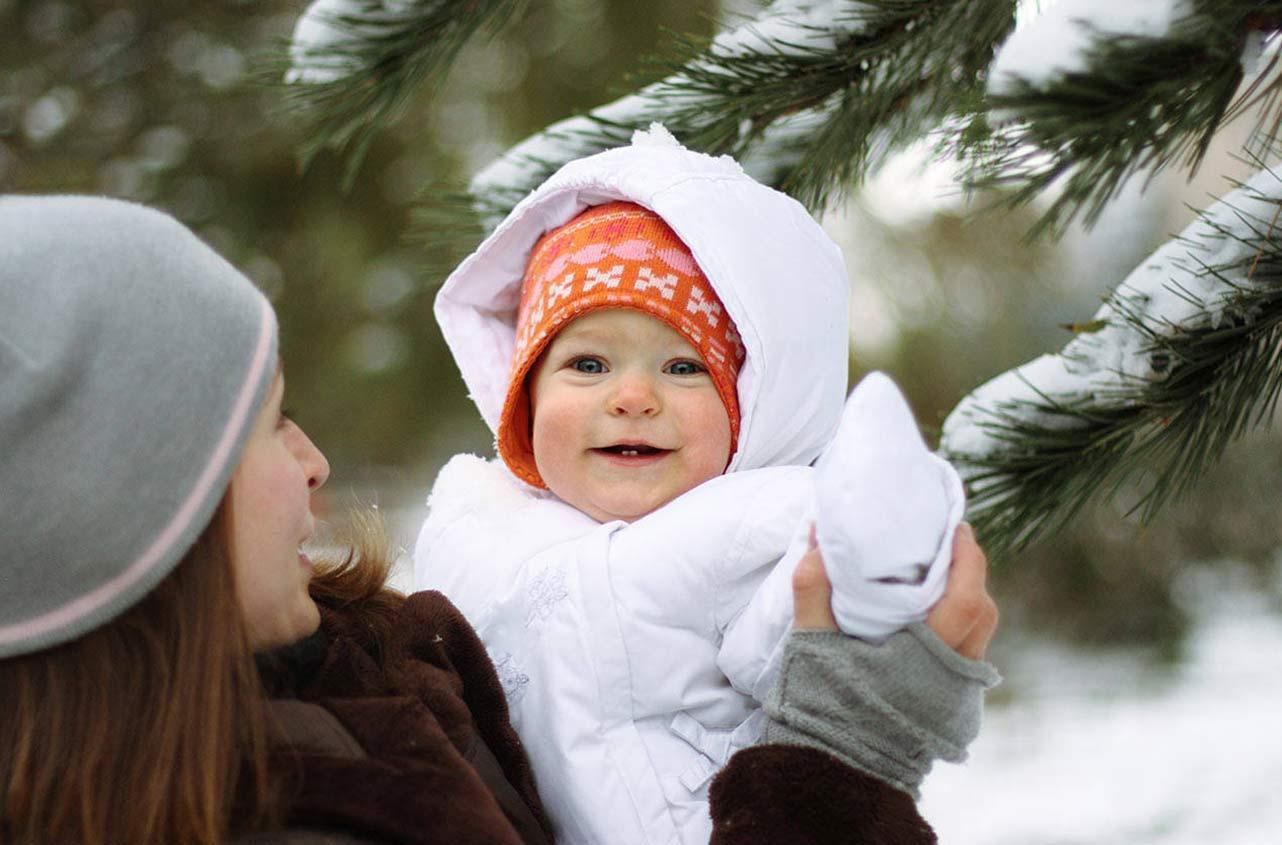 Зимняя верхняя одежда  для новорожденного