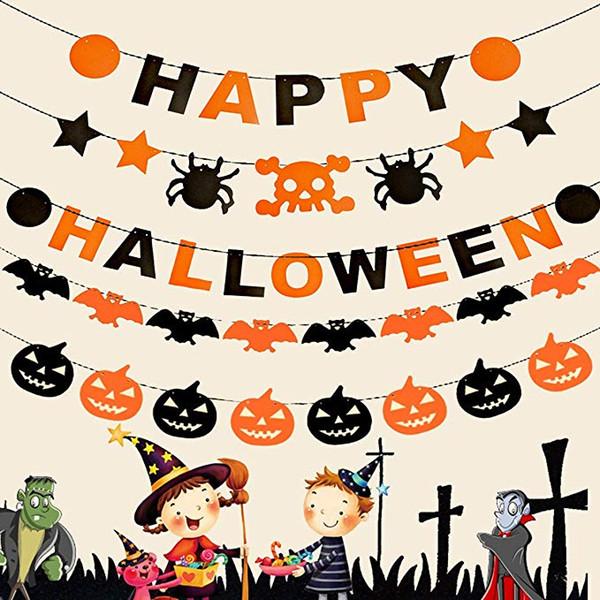 Идеи гирлянд на Хэллоуин