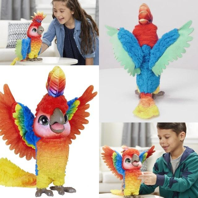 Попугай Furreal Friends