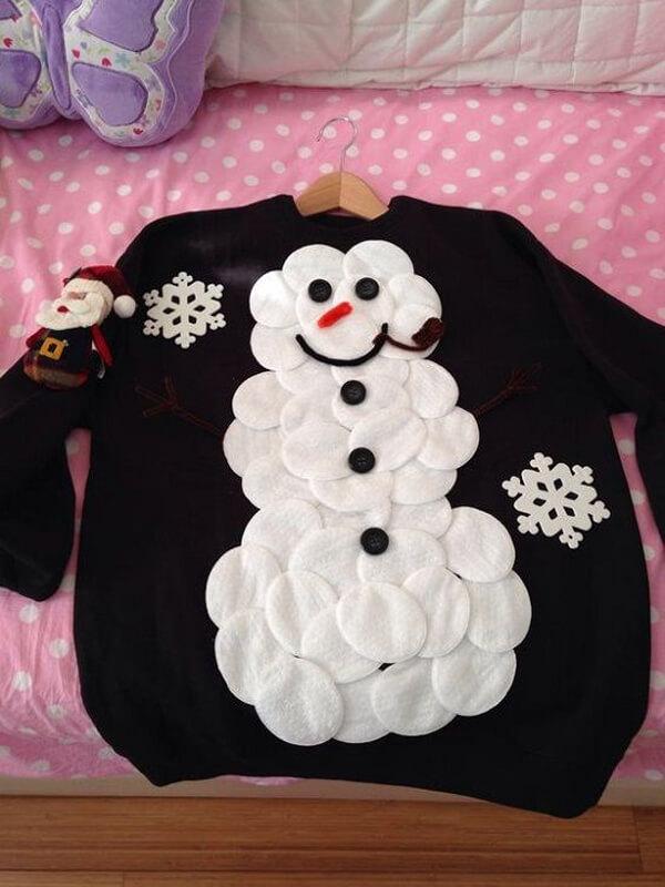 Детский новогодний свитер своими руками