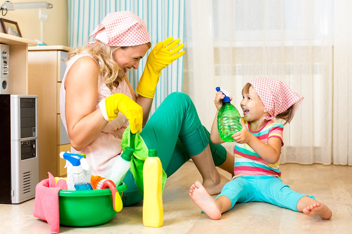 Порядок в доме и ребенок, совместимы ли?