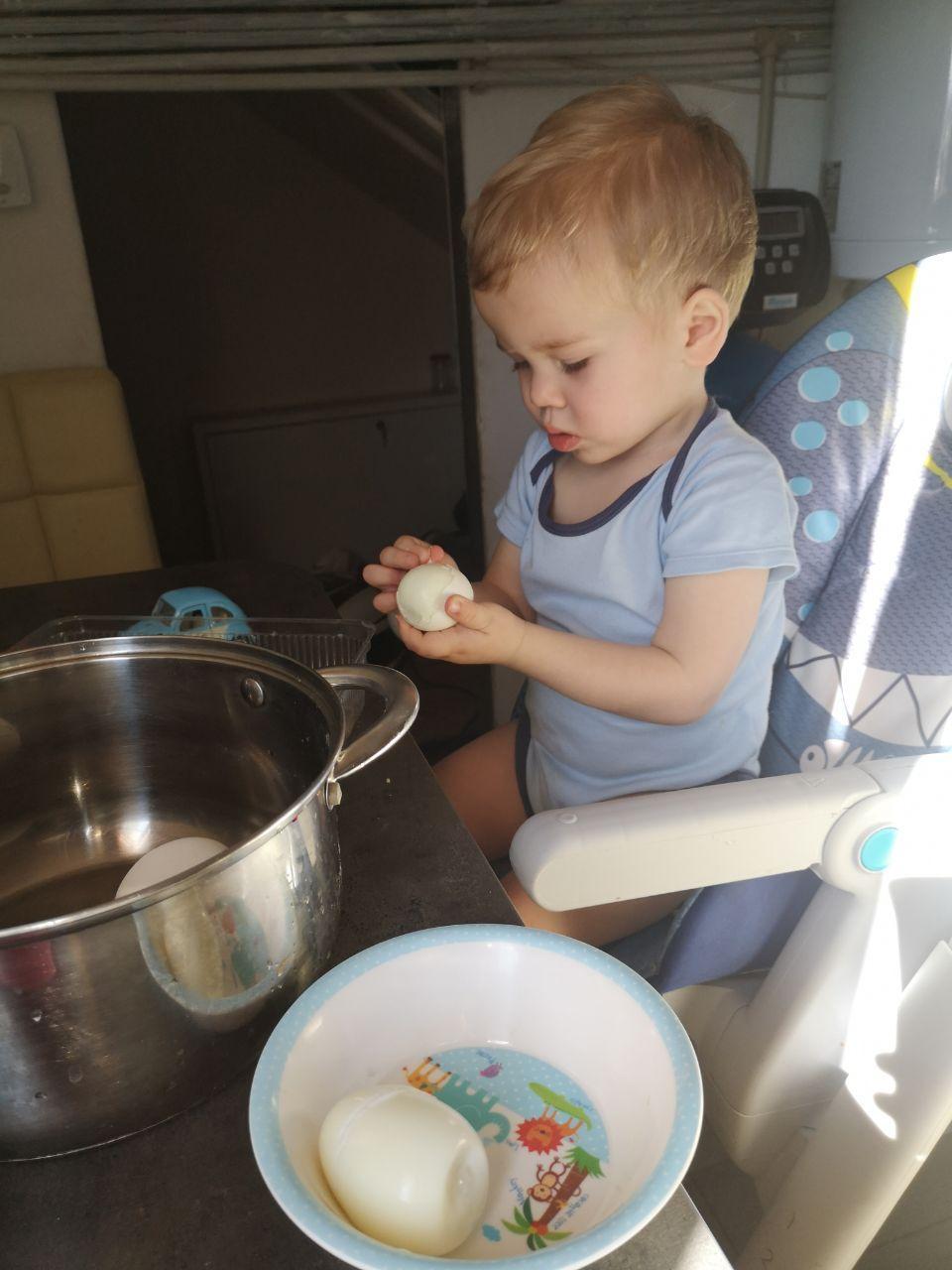 Помощь ребенка на кухне
