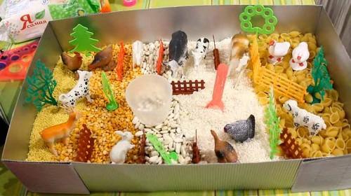 Сенсорная коробка ферма