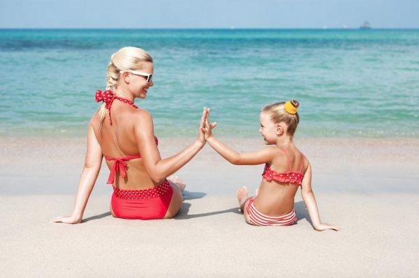 Культура поведения на пляже