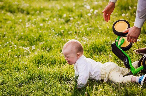 Что делать если младенец упал